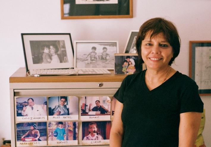 Sooni Taraporevala at home in Mumbai (photo Henry Peck)