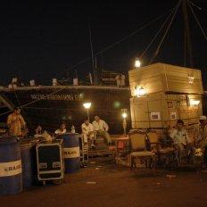 Wharfage broadcast, Sharjah, U.A.E.